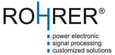Rohrer GmbH - power electronic, signal processing, customized solutions